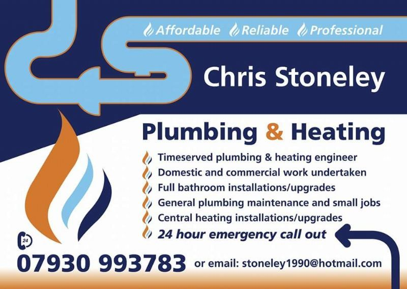 chris stoneley plumbing and heating  frodsham