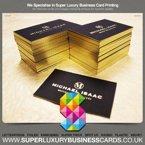 Super luxury business cards manchester design and print service super luxury business cards colourmoves