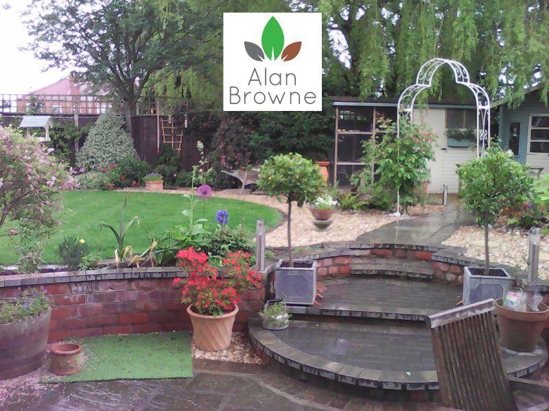 Alan browne lincolnshire ltd landscape gardener in for Garden design grimsby