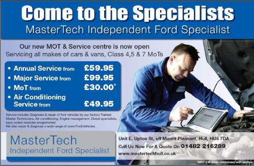 Mastertech Car Repair In Hull Uk